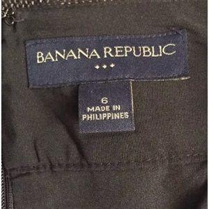 Banana Republic Skirts - BANANA REPUBLIC  Tweed Pencil Skirt Black White